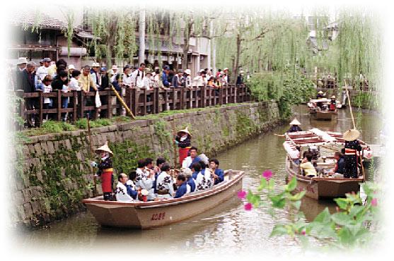 小野川下座舟②