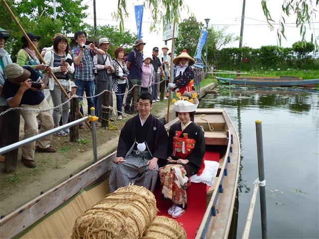 嫁入り舟体験6月18日%20(7)