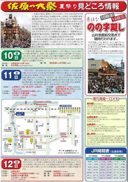 平成27年佐原の大祭夏祭り見どころ
