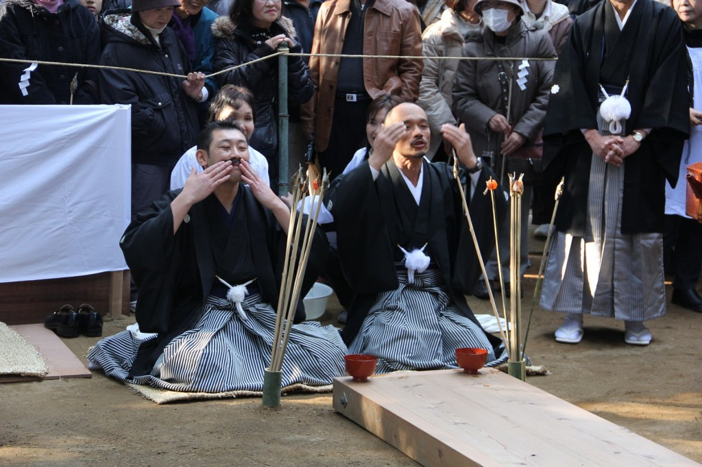 higenadematsuriひげなで祭り